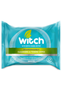 Biodegradable cleaning and toning wipes - Witch Skincare