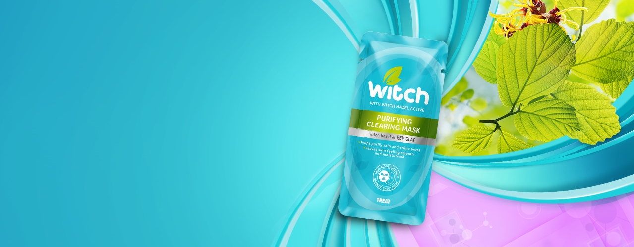 Witch Skincare Purifying Clearing Mask website banner